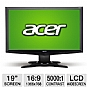 Alternate view 1 for Acer G185HV 19&quot; Class Widescreen LCD Monitor