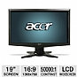 "Alternate view 1 for Acer G185HAb 18.5"" Wide 1366x768 LCD Monitor"