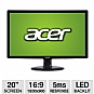 "Alternate view 1 for Acer S201HL bd 20"" Widescreen LED Backlit M REFURB"