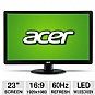 "Best Electronics Deals - Acer S230HL Bmii 23"" Class Widescreen LED Backlit Monitor"