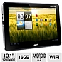Acer Iconia Tab A200-10g16u XE.H8QPN.001 Tablet - Android 3.2 Honeycomb, NVIDIA Tegra 2 Dual-Core 1.0GHz, 1GB DDR2, 16GB Storage, 10.1&quot; Multi-Touch Display, WiFi, Grey (Refurbished)