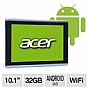 Acer Iconia Tab A500-10S32u XE.H6LPN.001 Tablet - NVIDIA Tegra 2 Dual-Core 1.0GHz, 1GB DDR2, 32GB Storage, 10.1&quot; Multi-Touch Display, Android 3.0 Honeycomb, Dual Webcams (Refurbished)