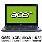 Alternate view 1 for Acer Core i3 500GB HDD Notebook