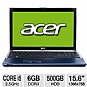 "Alternate view 1 for Acer Aspire Timeline X Core i5 15.6"" Blue Notebook"