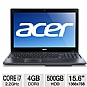 "Alternate view 1 for Acer Aspire Core i7, 4GB, 15.6"" Black Notebook"