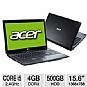 "Alternate view 1 for Acer Aspire AS5750-6845 15.6"" Black Noteboo REFURB"