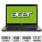 Alternate view 1 for Acer Aspire 17.3&quot; Core i5 500GB HDD Notebook