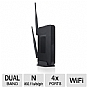 Amped Wireless NY8067 R20000G High Power Wireless-N 600mW Gigabit Dual Band Router - 300Mbps, 802.11a/b/g/n, 2.4GHz-5.0GHz, 4x LAN, WAN, USB 2.0