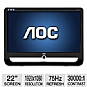 "Alternate view 1 for AOC F22 22"" Class Widescreen LCD Monitor"