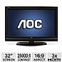Alternate view 1 for AOC LC32W063 32&quot; Class LCD HDTV 