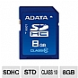 Alternate view 1 for A-Data 8GB SDHC Class 10 Flash Card