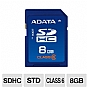 Alternate view 1 for ADATA 8GB Turbo SDHC Class 6 Card