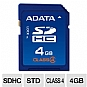 Alternate view 1 for A-Data 4GB Class 4 SDHC Flash Card