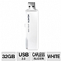 Alternate view 1 for ADATA UV110 32GB USB 2.0 Dash Drive - White