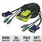Alternate view 1 for Iogear GCS62 2-Port KVM Switch w/Cables