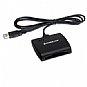 Alternate view 1 for IOGEAR USB Smart Card Reader - SMART card reader