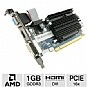 Alternate view 1 for Sapphire Radeon HD 6450 1GB GDDR3 Low Profile