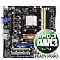 Alternate view 1 for Asus M3A78-CM Motherboard