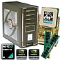 Alternate view 1 for Asus GeForce 6100 Socket AM2 Barebone Kit