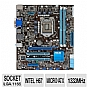 Alternate view 1 for ASUS P8H67-M LE B3 Intel H67 Motherboard