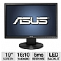 "Alternate view 1 for ASUS VW199T-P 19"" Class LED Backlit Monitor"