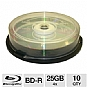 Alternate view 1 for Aleratec 370101 10 Pack 4X BD-R Spindle