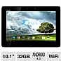 ASUS TF300T-B1-WH Eee Pad Transformer Tablet - Android 4.0 Ice Cream Sandwich, NVIDIA Tegra 3 1.2GHz, 1GB DDR3, 32GB Flash Storage, 10.1&quot; Multi-Touch Screen, Dual Webcams, White (Refurbished)