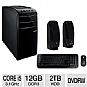 ASUS Core i5 2TB HDD Desktop PC Bundle