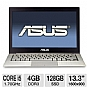 "ASUS ZENBOOK UX31EDH52 Laptop Computer - Intel Core i5-2557M 1.70GHz, 4GB DDR3, 128GB SSD, 13.3"" Display, Windows 7 Home Premium 64-bit, Silver, 1-YR Warranty/1-YR Accidental Damage."
