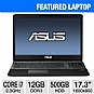 "Alternate view 1 for ASUS G75 17.3"" i7 12GB/500GB/GTX 660M Win7 NB"