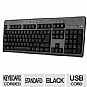 Alternate view 1 for Adesso AKB-131HB Desktop MultiMedia Keyboard 