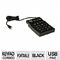 Alternate view 1 for Adesso AKP-220B Mechanical Numeric Keypad