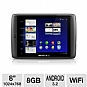 "Archos 501897 80 G9 Android Internet Tablet - Android 3.2, ARM Cortex A9 1.0GHz, 8"" Touch Screen, 8GB Storage, WiFi 802.11 b/g/n, Bluetooth, HDMI, Webcam"