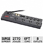 Alternate view 1 for APC P8VT3 Audio Video 8 Outlet Surge Protector