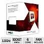 AMD FD6100WMGUSBX FX-6100 Processor - Six Core, 8MB L3 Cache, 6MB L2 Cache, 3.30GHz (3.90GHz Max Turbo), Socket AM3+, 95W, Fan, Unlocked, Retail