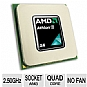Alternate view 1 for AMD Athlon II X4 615e 2.50GHz Quad-Core OEM CPU