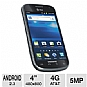 Alternate view 1 for AT&T Samsung Exhilarate I577 4G LTE Cell Phone