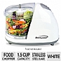 Alternate view 1 for Brentwood MC-101 White Mini Food Chopper
