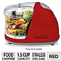 Alternate view 1 for Brentwood MC-105 Red Mini Food Chopper