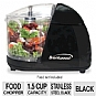 Alternate view 1 for Brentwood MC-106 Black Mini Food Chopper