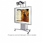 Alternate view 1 for Balt iTeach Interactive Whiteboard Holder 