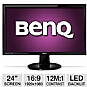 "Alternate view 1 for BenQ GL2450HM 24"" Pro Gaming Monitor, 2ms, HDMI"