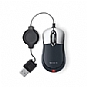 Belkin F5L016 Mobile Retractable USB Mouse - Black (Refurbished)