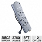 Alternate view 1 for Belkin BE112230-08 12-Outlet Surge Supressor