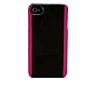 Alternate view 1 for Body Glove 9164601 Fringe Snap-On Case Clear/Pink