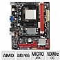 Alternate view 1 for BIOSTAR A780L3B 760G AM3 Motherboard
