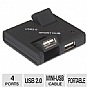 Alternate view 1 for Inland 08306 Pro Mini USB 2.0 4-Port Hub