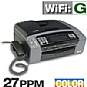 Brother MFC-790CW All-in-One Color Inkjet Printer - 6000 x 1200 dpi, 33 ppm, Copy, Scan, Fax, USB