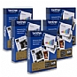 Brother BP60MPLTR Ream of Paper 5-Pack Bundle