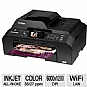 Alternate view 1 for Brother MFCJ5910DW WiFi All-in-One Printer